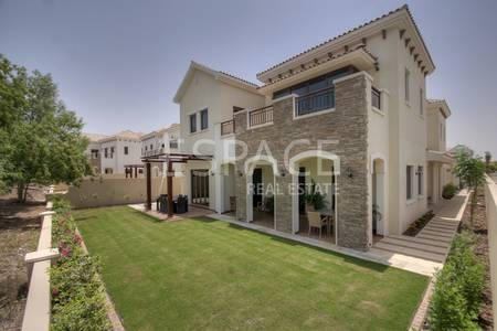 5 Bedroom Villa for Rent in Jumeirah Golf Estate, Dubai - High End Finish - Golf Course View - 5BR