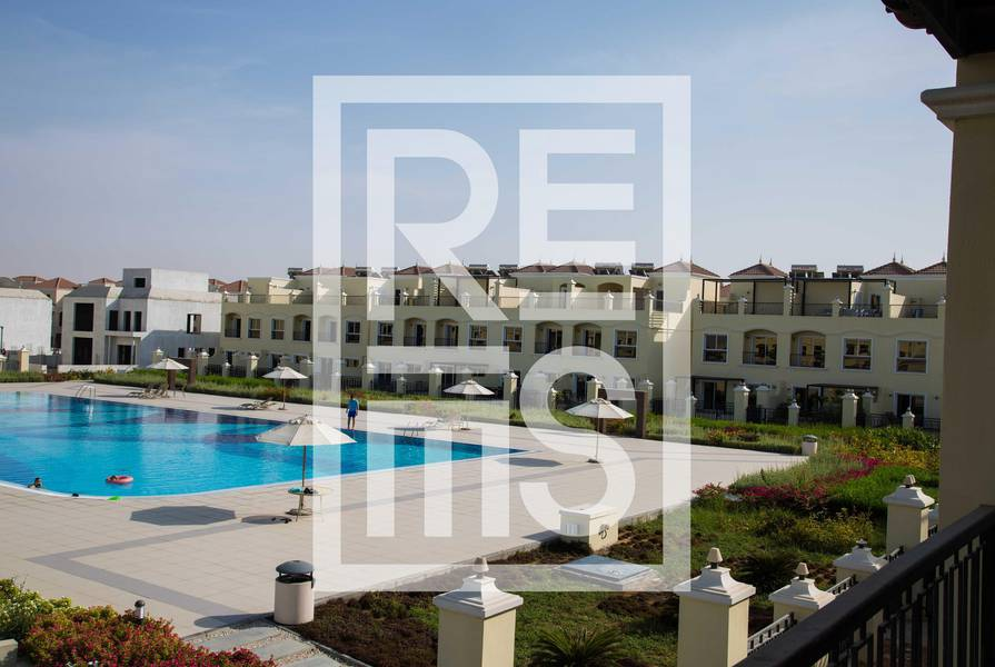 4BR Outstanding Pool View Bayti Townhouse