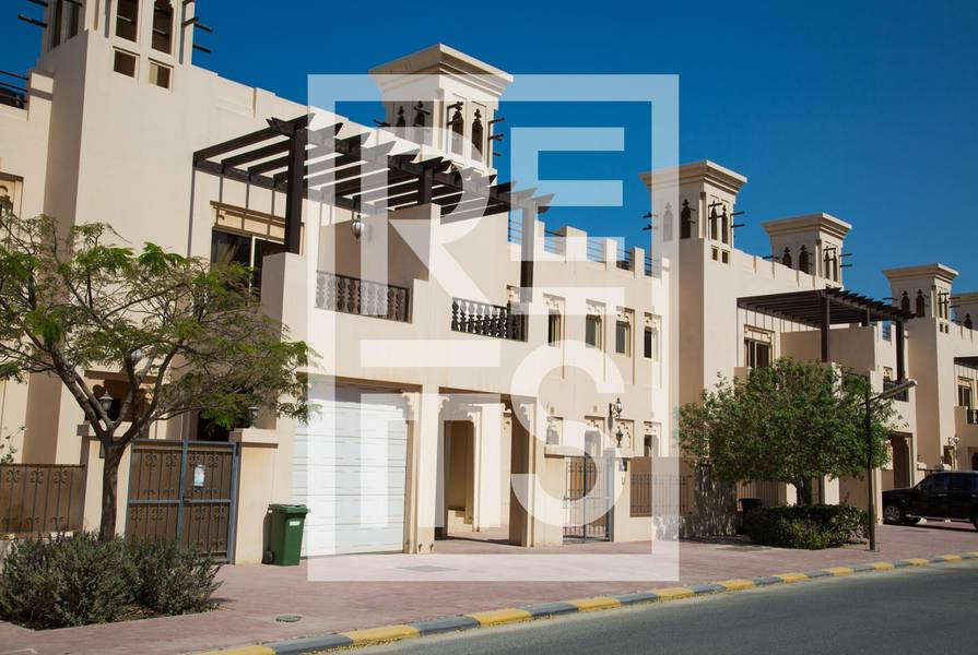 10 3BR Townhouse in Al Hamra Village for Sale
