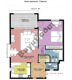 Garden Apartments 1 Bedroom