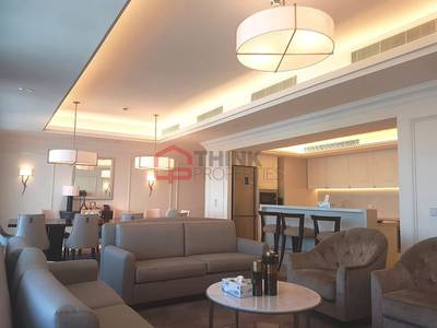 4 Bedroom Flat for Sale in Downtown Dubai, Dubai - Rare 4BR+M on High Floor with DIFC Views