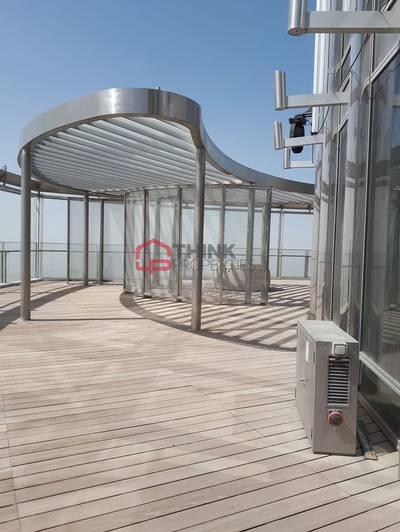 4 Bedroom Penthouse for Sale in Downtown Dubai, Dubai - Shell 'n Core 4BR+S Penthouse Private Terrace