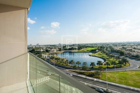 1 Bedroom Flat for Sale in The Hills, Dubai - Best view-Montgomerie Golf and Lake views