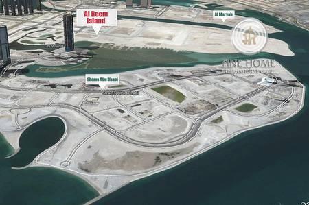 ارض تجارية  للبيع في جزيرة الريم، أبوظبي - Waterfront Mixed Use Land in Reem Island