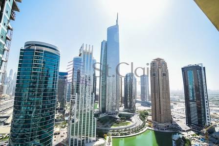 Studio for Rent in Jumeirah Lake Towers (JLT), Dubai - Studio | Lake View | Mid Floor|Near Metro