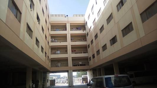 Labour Camp for Rent in Jebel Ali, Dubai - Independent block- 45 rooms; 8 persons approval; Window A/c 1 Kitchen & 1 Dining rent in Jebel ali
