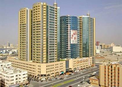 2 Bedroom Flat for Sale in Ajman Downtown, Ajman - Specious offer Big Size 2 Bed Room Hall Apartment In 450000 aed Only With Parking.