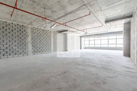 Office for Rent in The Greens, Dubai - Mid floor shell core office in The Onyx