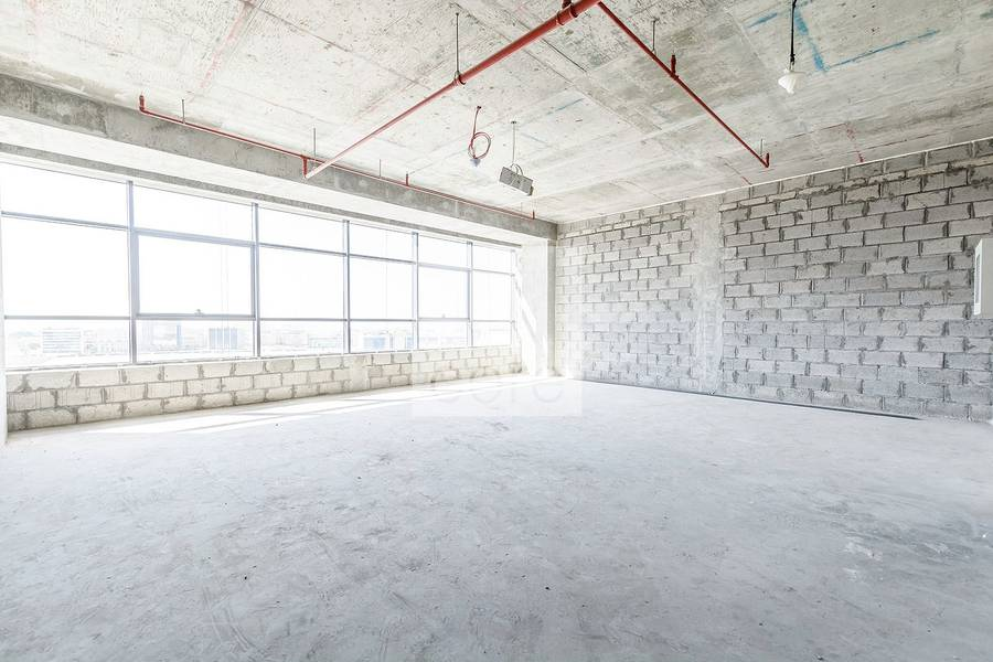 Vacant shell and core office in The Onyx