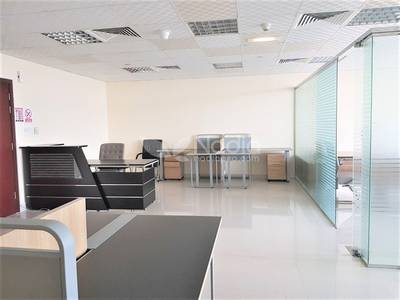 Office for Rent in Jumeirah Lake Towers (JLT), Dubai - Furnished Office with Partition | Jumeirah Bay X2 | JLT