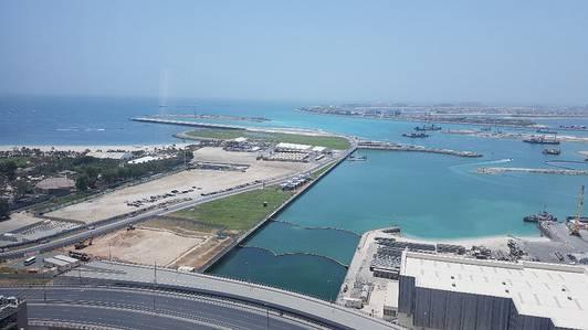 2 Bedroom Flat for Rent in Dubai Marina, Dubai - 2 BR|Sea View | High Floor | Cayan Tower.