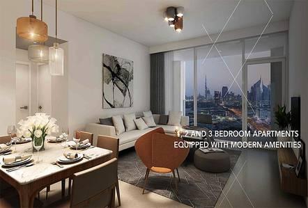 2 Bedroom Apartment for Sale in Bur Dubai, Dubai - 2 Bed Room l Vida Zabeel l Full Skyline View