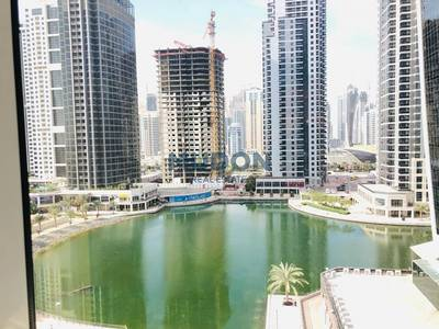 Office for Rent in Jumeirah Lake Towers (JLT), Dubai - Lake View Furnished Office JLT Cluster W