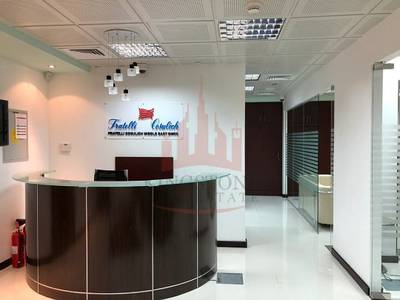 Office for Rent in Jumeirah Lake Towers (JLT), Dubai - STATE-OF THE-ART FURNISHED OFFICE SPACE IN INDIGO ICON
