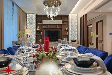 4 Bedroom Penthouse for Sale in Downtown Dubai, Dubai - 4 BR Apt with Panoramic View of The Burj Khalifa