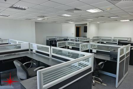 Office for Rent in Jumeirah Lake Towers (JLT), Dubai - Furnished Office with Community