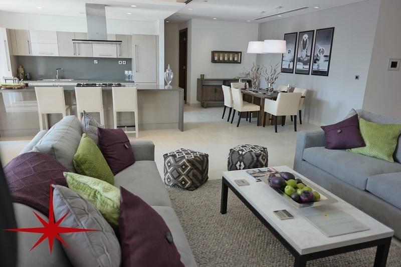 شقة في شوبا هارتلاند مدينة محمد بن راشد 3 غرف 2600000 درهم - 3537517