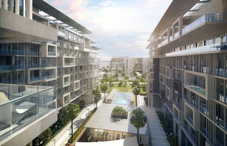 1 Bedroom Apartment for Sale in Masdar City, Abu Dhabi - Luxury Living starts in Oasis Residence