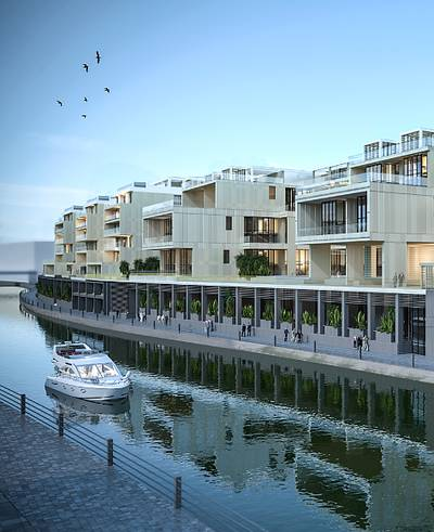 STYLISH 3 BED LOFT PLUS ROOF WITH CANAL VIEW @  just 1% Monthly