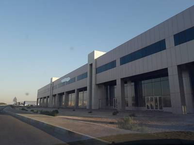 Showroom for Rent in Mussafah, Abu Dhabi - Brand New Showroom with Offices and Wharehouse in Mussafa