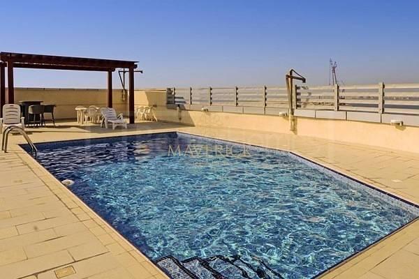 Partial Sea View | Bright Studio | 4 Cheques | Dubai Marina