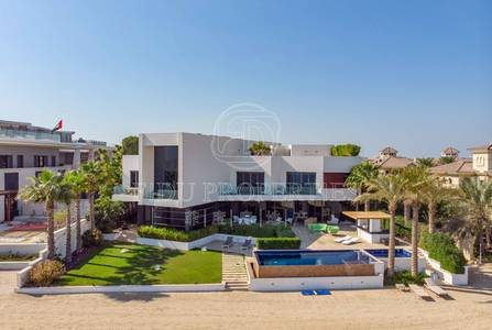 5 Bedroom Villa for Sale in Palm Jebel Ali, Dubai - Fully Furnished | Modern | Infinity Pool