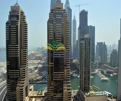 4 Bedroom Flat for Rent in Dubai Marina, Dubai - Full Marina  Views | Vacant |4 Balconies