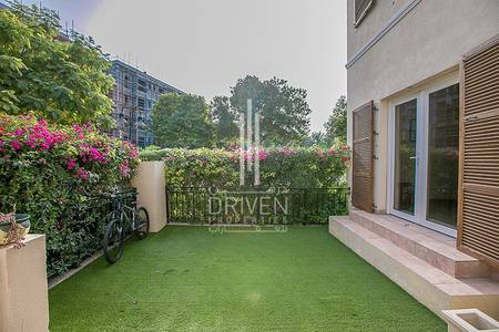 4 Bedroom Townhouse for Rent in Green Community, Dubai - Corner 4 BR Townhouse direct to the Park