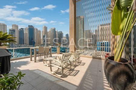 شقة 4 غرفة نوم للبيع في دبي مارينا، دبي - Great Price for a Huge Penthouse