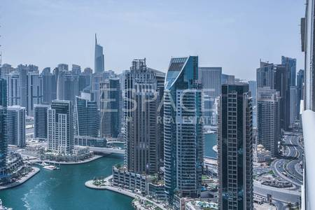 3 Bedroom Flat for Sale in Dubai Marina, Dubai - Marina and Golf Course View | Mid Floor