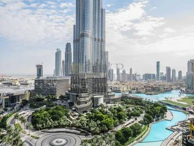 3 Bedroom Apartment for Rent in Downtown Dubai, Dubai - BEST 3 BED LAYOUT WITH BURJ KHALIFA VIEW