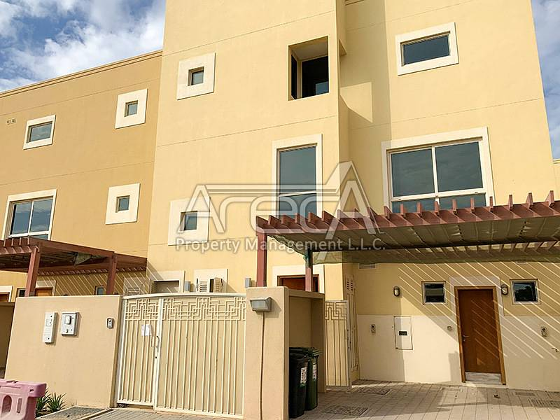 Glorious Townhouse with Shared Facilities! Affordable Rent in Al Raha Gardens