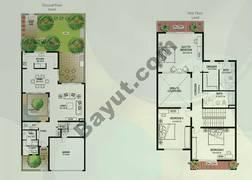 Floor (Ground,1) Villa Type S 3 Bedroom Townhouse