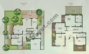 Floor (Ground,1) Villa Type S 4 Bedroom