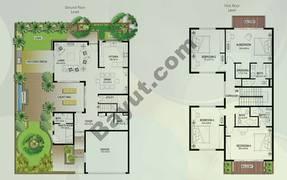 Floor (Ground,1) Villa Type S 4 Bedroom Townhouse
