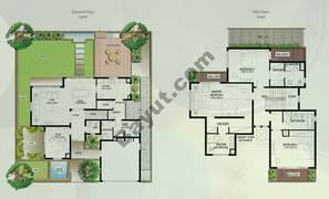 Floor (Ground,1) Villa Type S 3 Bedroom