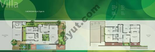 Floor (Ground,1) Villa Type A 5 Bedroom
