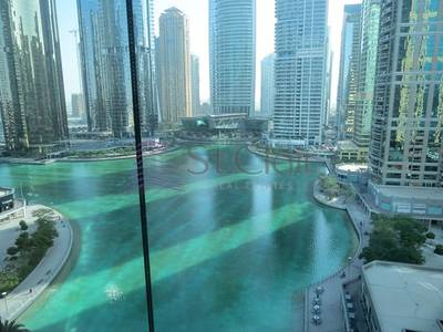 Office for Rent in Jumeirah Lake Towers (JLT), Dubai - Fully Furnished Office|Mid Floor|Lake View