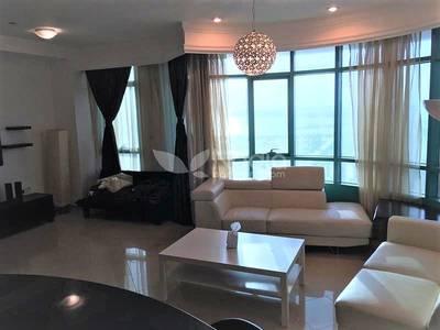 2 Bedroom Apartment for Rent in Dubai Marina, Dubai - 2 Bedroom + Maid | Furnished | Sea View | Marina Crown