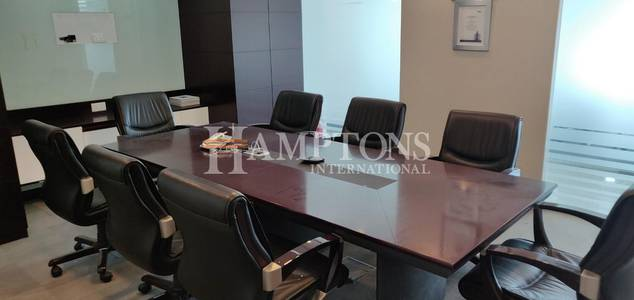Office for Rent in Jumeirah Lake Towers (JLT), Dubai - Furnished Office in Almas Tower
