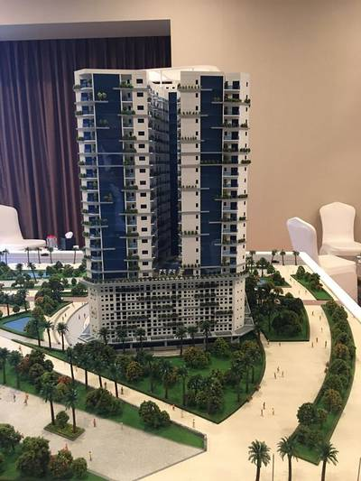 Studio for Sale in Al Amerah, Ajman - Take a 5% discount from the developer to start the project (Tower-farm)