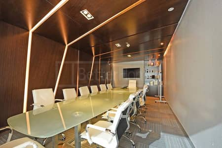 Office for sale on SZR - Latifa Tower- Fully Fitted