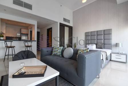 Studio for Rent in Dubai Marina, Dubai - Luxury Penthouse Studio | Fully Furnished
