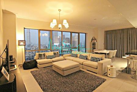 STUNNING 2 BED APARTMENT WITH BURJ KHALIFA VIEW IN SOUTH RIDGE 1