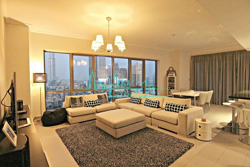 2 STUNNING 2 BED APARTMENT WITH BURJ KHALIFA VIEW IN SOUTH RIDGE 1
