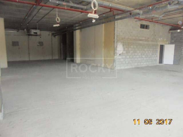 10 Shell and Core Retail Space in Al Barsha 1