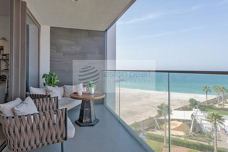 3 Bedroom Flat for Sale in Pearl Jumeirah, Dubai - 3 BR + Maid's | Direct on the Beachfront
