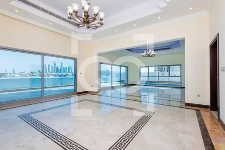 5 Bedroom Villa for Sale in Palm Jumeirah, Dubai - Brand New Customized Garden Home with Ain Dubai View