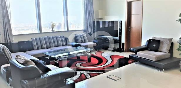 3 Bedroom Flat for Rent in Dubai Marina, Dubai - FULLY FURNISHED SPACIOUS 3 BEDROOM | SEA VIEW | NEXT TO TRAM
