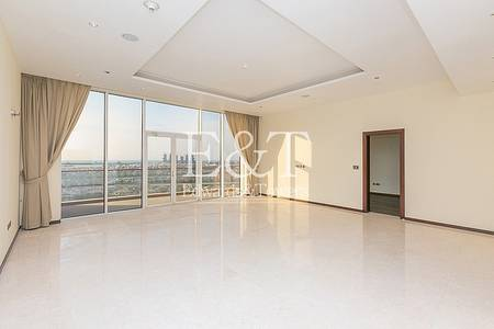 3 Bedroom Flat for Sale in Palm Jumeirah, Dubai - High Floor|Vacant|Sea and Atlantis views